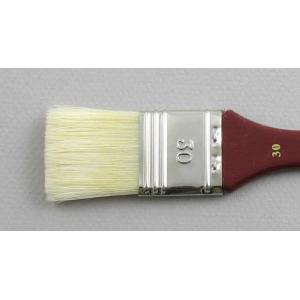Hog Bristle Series 200: Wide Flat Size 30 Brush