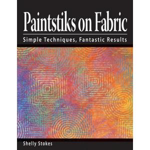 Cedar Canyon Textiles Paintstiks on Fabric Book; Format: Book; (model CCT401), price per each