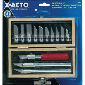 X-Acto® Basic Knife Set; Style: General Purpose; Type: Knife; (model X-5282), price per set