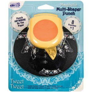 Blue Hills Studio™ Multi-Shaper Magnetic Punch Tweet Tweet; Type: Border, Circle, Corner, Oval, Square; (model BHS626), price per each
