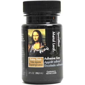 Mona Lisa™ Extra Thick Liquid Adhesive Carded: Blister-carded, Double-Sided, Bottle, Palette, 2 oz, (model ML10207C), price per each