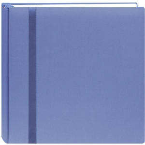 "Pioneer®  Snap Load® 12 x 12 Scrapbook Blue; Color: Blue; Material: Fabric; Page Count: 10 Page Protectors; Size: 12"" x 12""; (model DSL12-BL), price per each"