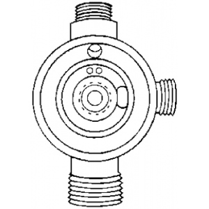 Paasche Atomizing Air Dial Control Fluid Body: Standard