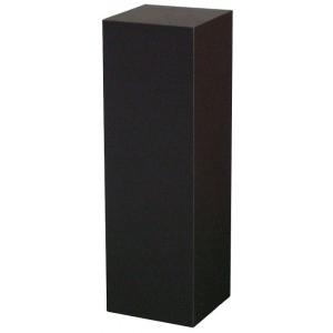 "Xylem Black Laminate Pedestal: 18"" x 18"" Base, 30"" Height"