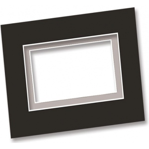 "Alvin Mat and Drawing Board: Smooth, Black & White, 20"" x 30"", Box of 25"