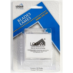 Logan 270-100 Replacement Blade Pack of 100, Blister Card, 2 Packs