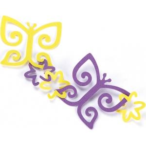 EK Success Garland Punch Butterfly & Flower: Pattern, Shape, (model 54-91007), price per each