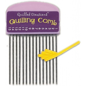 Quilled Creations™ Quilling Comb: Shaping, (model QC309), price per each