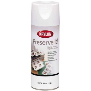 Krylon® Preserve It!™ Matte Spray: Matte, Varnish & Specialty, (model K7027), price per each