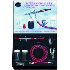 Paasche Millennium Siphon Feed Airbrush Set