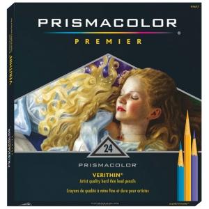 Prismacolor® Verithin® Premier Pencil 24-Color Set: Multi, (model E731), price per set