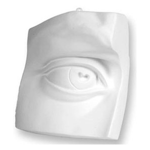 Sculpture House Plaster Cast-Eye