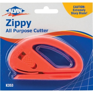 Alvin® Zippy All Purpose Cutter; Style: General Purpose; Type: Knife; (model K353), price per each