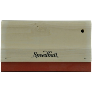 """Speedball® 10"""" Graphic Squeegee Neoprene Blade; Type: Squeegee; (model 4536), price per each"""