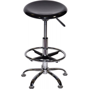 Premier Drafting Airlift Stool: Red