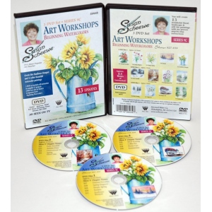 Scheewe Art Workshop: 3 DVD Set Series 9C, 13 Episodes