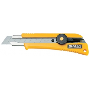 Olfa® No-Slip Utility Knife; Style: Snap Blade; Type: Knife; (model OL-L2), price per each