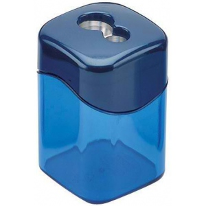 M + R Quattro Swing Double-Hole Sharpener 10/Box: Assorted, Two, Plastic, 10-Box, Manual, (model 0924), price per 10-Box box
