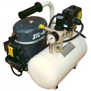 Silentaire Sil-Air 50-6 Silent Running Airbrush Compressor, Portable Air Compressor
