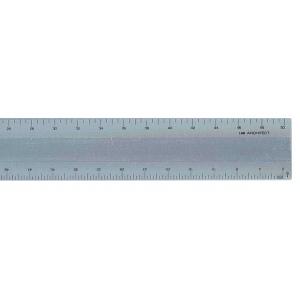 """Alumicolor® Series L2R™ 12"""" Aluminum Scale; Color: Metallic; Material: Aluminum; Size: 12""""; Type: Architect; (model 3136-1), price per each"""