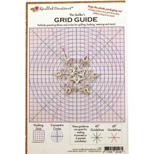 Quilled Creations™ Quilling Grid Guide; Type: Shaping; (model QC308), price per each