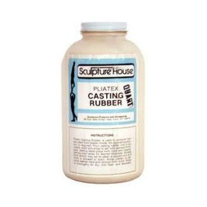 Sculpture House Pliatex Casting Rubber: 1 Quart