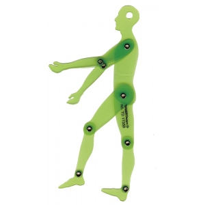 "Alvin® Human Figure 6.75"" Template; Scale: 1:10; (model TD1735B), price per each"