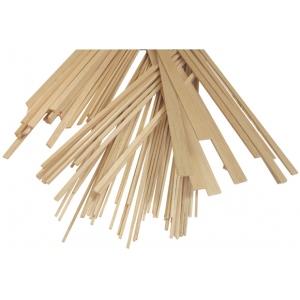 """Alvin® Balsa Wood Strips 1/8"""" x 1/8"""": Strip, 40 Strips, 1/8"""" x 36"""", 1/8"""", (model BS1043), price per 40 Strips"""