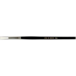 "Mack Synthetic White Taklon Rigger Series 258: #10, Hair Length 13/16"""
