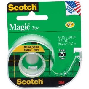 """Scotch® Magic™ 3/4"""" x 300"""" Tape; Size: 3/4"""" x 300""""; (model 105), price per each"""