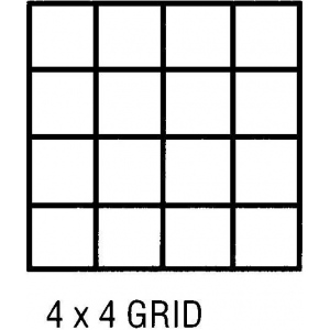 """Clearprint® 1000H Series 36 x 5yd Vellum Roll 4x4 Grid: Roll, 4"""" x 4"""", 36"""" x 5 yd, 16 lb, (model CP10104149), price per roll"""