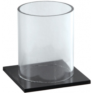 Generic Acrylic Display Cup with Base; Type: Rack; (model RACK27), price per each
