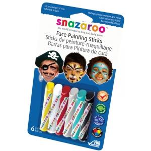 Snazaroo™ Face Painting 6-Stick Boy Set: Multi, Stick, (model 1160602), price per set