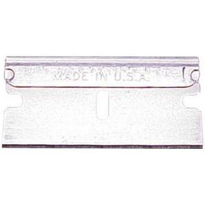 American Safety Razor Single Edge Razor Blades 100-Pack; Type: Replacement Blade; (model 0238), price per box