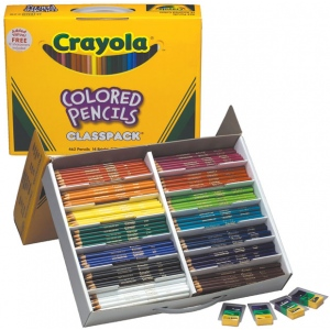 Crayola Long Colored Pencil Class Pack 426 Piece