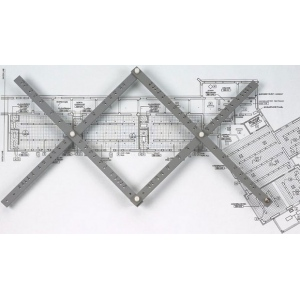 "Alvin® 24"" Wood Pantograph: Wood, 24"", Scale, (model PA308), price per each"