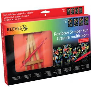 Reeves™ Mini Scraperfoil™ Rainbow Foil Gift Set; Color: Multi; (model PPRSAMGIFT), price per set