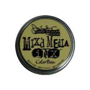ColorBox® Mix'd Media Inx™ Mossy Pigment Ink Pad: Green, Pad, Pigment, Refillable, (model CS37011), price per each