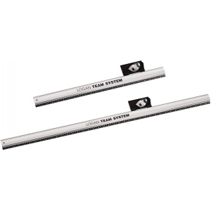 "Logan 424-1 Straight Edges Team System Plus: 24"", Pack of 2"