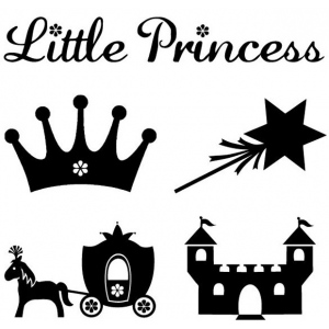 My First ColorBox® Mini Stamp Princess Set: No, Stamp, (model CS68203), price per each