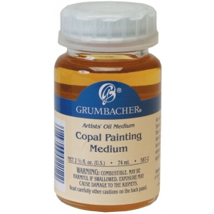 Grumbacher® Copal Painting Medium 74ml: Can, 2.5 oz, Alkyd, (model GB5872), price per each