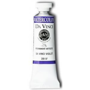Da Vinci Artists' Watercolor Paint 15ml Violet; Color: Purple; Format: Tube; Size: 15 ml; Type: Watercolor; (model DAV200-5F), price per tube