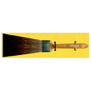 Mack Squirrel Hair Broadliner Series 40: #3, 12.70 mm Head Width