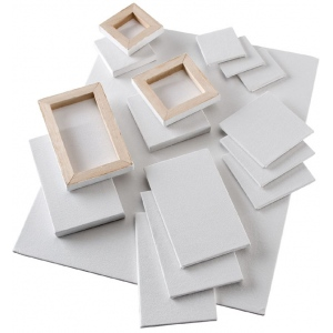 "Heritage Arts™ Mini Stretched Canvas 2 x 2; Size: 2"" x 2""; Type: Mini, Stretch; (model SCG22), price per box"