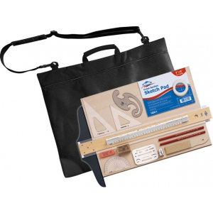 Alvin® S700 Scholastic Drawing Outfit; Type: Drawing and Geometry Set; (model S700), price per each