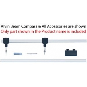 Alvin® Channel Beam Bar Compass Bar Slide Assembly; Replacement Part: Yes; Type: Compass/Divider; (model 61D), price per each