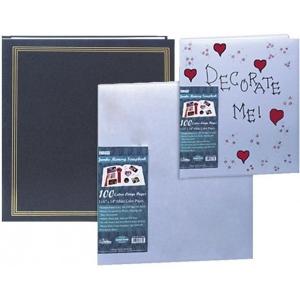 "Pioneer® Jumbo Scrapbook (Assorted Covers); Material: Paper; Size: 11 3/4"" x 14""; (model SJ100), price per each"