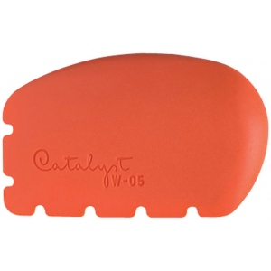 Princeton™ Catalyst™ Wedge Shape 5; Material: Silicone Synthetic Bristle; Shape: Wedge; Size: 5; Type: Acrylic, Oil; (model W-05), price per each