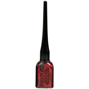 Smooch™ Glitz Glitter Finishing Coat Firecracker; Color: Red/Pink; Format: Bottle; Ink Type: Glitter; Size: 9 ml; (model CS70470), price per each