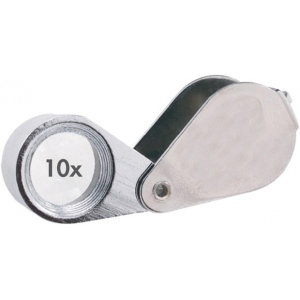 Alvin® 10x Doublet Loupe with Case; Magnification: 10x; Type: Loupe; (model C792), price per each